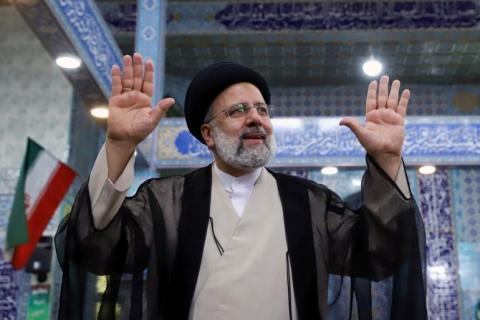 इरानय् कट्टरपन्थी धर्मगुरु इब्राहिम रायसी निर्वाचित