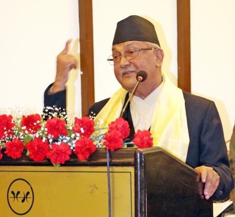 आःया चुनावं माधवकुमार नेपाल सांसद तकं मजुइगु प्रधानमन्त्री ओलीया दाबी