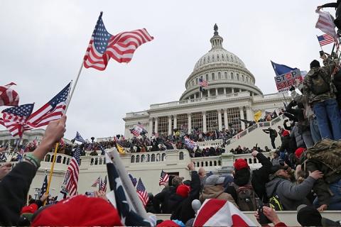 अमेरिकाया संसदय् जूगु दंगाय् ट्रम्पया ग्वहालिमिपिं तक्यन