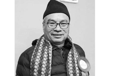 कलाकार रामकृष्ण महर्जन धिनाः आकाझाकां मन्त