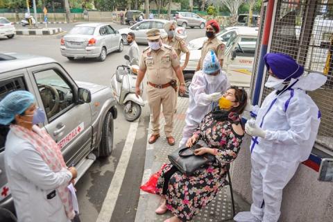 भारतय् छन्हु हे डेढ लाख न्हुपि संक्रमित