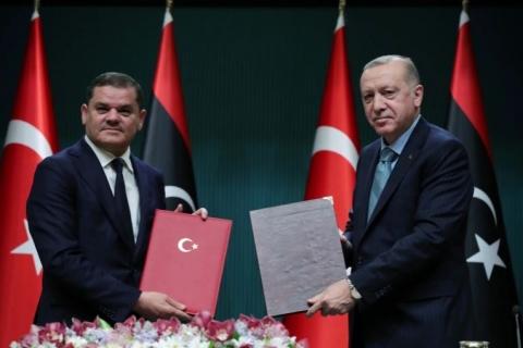 लिबिया व टर्की दथुई सम्झौता
